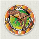 壁掛け時計/デザインクロック 【T-REX】 直径30cm アクリル素材 『MYCLO』 〔インテリア雑貨 贈り物 什器〕