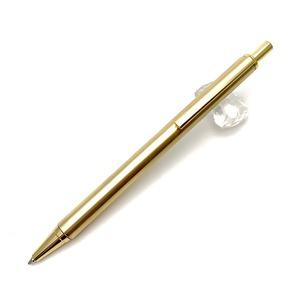 金属/シャープペン KMS211 Metal Pen/真鍮(ゴールドカラー) - 拡大画像