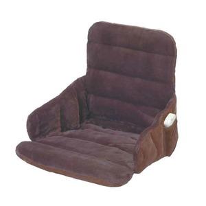 ソファー・椅子用 ヒーター/ホットマット 【幅37cm】 洗えるカバー 電磁波カット機能 『腰すっぽりヒーター』 - 拡大画像