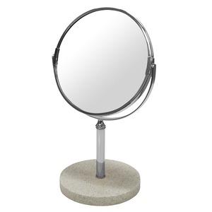 デスクミラー/卓上鏡 【幅20cm×奥行15cm×高さ32.5cm】 片面3倍拡大鏡