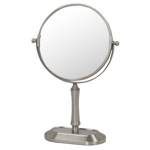 デスクミラー/卓上鏡 【幅20.2cm×奥行8.8cm×高さ34cm】 片面3倍拡大鏡