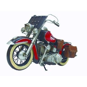 ブリキのおもちゃ 置き物 【バイク10】 材質:鉄 〔インテリアグッズ ディスプレイ雑貨〕 - 拡大画像