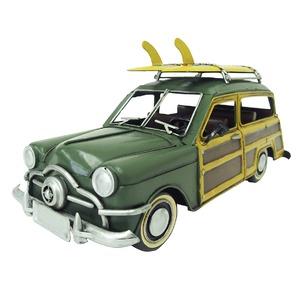 ブリキのおもちゃ 置き物 【クルマ16】 材質:鉄 〔インテリアグッズ ディスプレイ雑貨〕 - 拡大画像