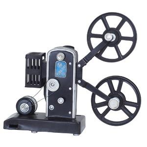 ブリキのおもちゃ 置き物 【映写機01】 材質:鉄 〔インテリアグッズ ディスプレイ雑貨〕 - 拡大画像