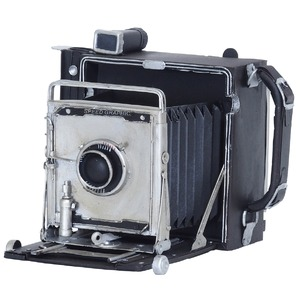 ブリキのおもちゃ 置き物 【カメラ01】 材質:鉄 〔インテリアグッズ ディスプレイ雑貨〕 - 拡大画像