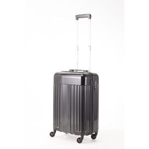 スーツケース/キャリーバッグ 【機内持ち込みサイズ ブラック】 32L 『マンハッタンエクスプレス ワーゲン』