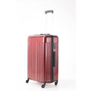 スーツケース/キャリーバッグ 【Mサイズ レッド】 60L 『マンハッタンエクスプレス ワーゲン』 - 拡大画像