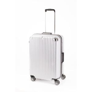 スーツケース/キャリーバッグ 【ホワイトヘアライン】 Mサイズ 75L 『トラベリスト ストロークII』 - 拡大画像
