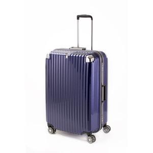 スーツケース/キャリーバッグ 【ブルーヘアライン】 Lサイズ 100L 『トラベリスト ストロークII』 - 拡大画像