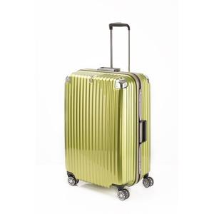 スーツケース/キャリーバッグ 【ライムヘアライン】 Lサイズ 100L 『トラベリスト ストロークII』 - 拡大画像