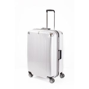 スーツケース/キャリーバッグ 【ホワイトヘアライン】 Lサイズ 100L 『トラベリスト ストロークII』 - 拡大画像