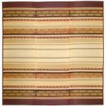 い草 ラグマット/絨毯 【230×330cm ブラウン】 湿度調整 抗カビ 消臭 ホットカーペット 床暖房対応 『風雅 ふうが』