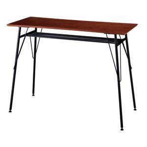 カウンターテーブル ブラウン RD-T8680