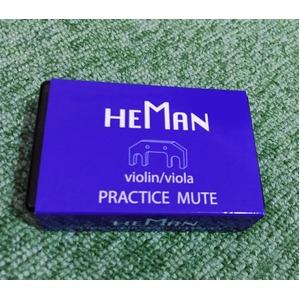 消音(弱音)ミュート/弦楽器用品 【バイオリン・ビオラ用 10個セット】 型番:PM-01 『詩門 HEMAN』 - 拡大画像