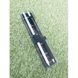 マグネットペン/磁石付き鉛筆 【黒 10箱セット】 長さ19.3cm 型番:MP-6 〔楽器アクセサリー 譜面〕 - 拡大画像