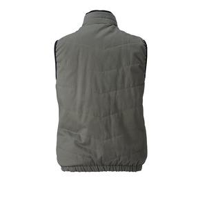 村上被服製 6299 ソフト綿素材・保温裏アルミ 防寒ベスト ブラウン 4L