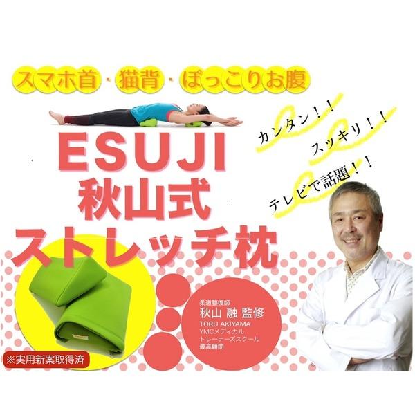 秋山式ストレッチ枕 ESUJI 【カリスマカイロプラクター秋山融氏監修】