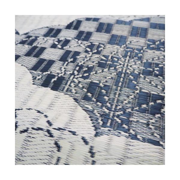 おすすめ!モダン い草ラグ WATSUMUGI ラグマット/絨毯 防カビ加工『わつむぎ』画像03
