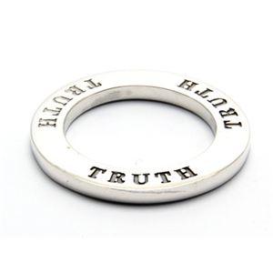 TRUTH・メッセージシルバーペンダント 40cm チェーン付き ZZPS-454s-c40 - 拡大画像