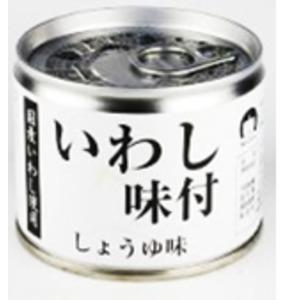 いわし味付けしょうゆ味24缶セット - 拡大画像