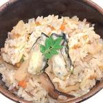 レンジで簡単調理!炊き込みごはん かきめし【6食セット】