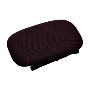 折りたたみ ローチェア 【ブラウン×ブラック】 幅31cm 重さ1.3kg 日本製 スチール 通気性 『ローザ』