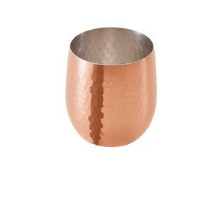 ロックカップ 340ml ビアカップ タンブラー 銅製 銅 カップ 日本製【ASH-5708】 - 拡大画像