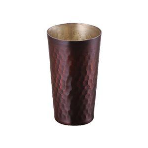 クールカップ150ml タンブラー ビール 銅 日本製 ブロンズ グラス【ASH-6024】 - 拡大画像
