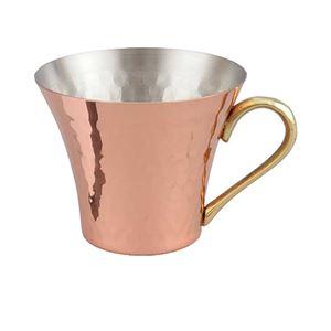 銅 アイスマグカップ270ml アイスコーヒー アイスティー 本格 日本製 燕三条産【ASH-8707】
