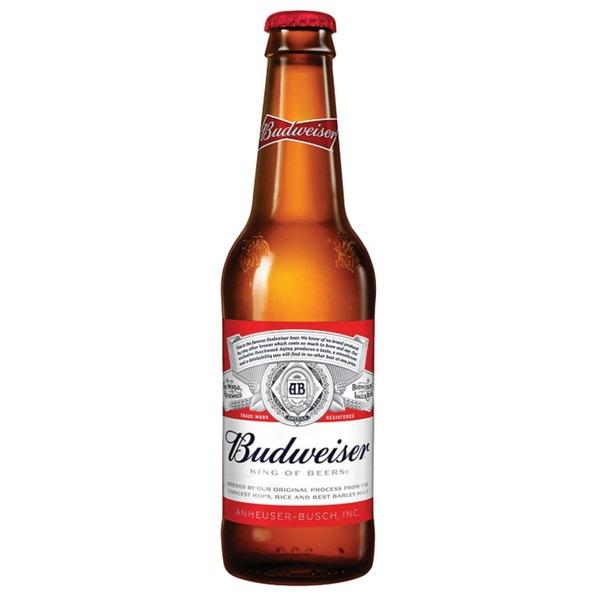 【海外ビール】バドワイザー 355ml 瓶 1ケース(24本入り)
