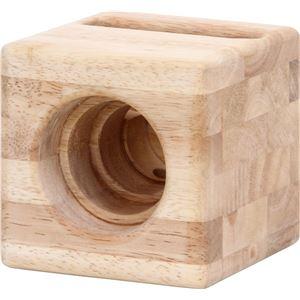 木製スピーカー ナチュラル - 拡大画像
