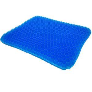 ジェルクッション/椅子クッション 【約幅40cm】 洗える 2層ハニカム式 専用カバー付 宇宙の座り Space Seat Cushion CosumoZero1