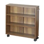 オープンラック 木製 収納ラック おしゃれ マルチラック ラック シェルフ クローゼット 押入れ 書棚 収納 幅63×奥行17×高さ64cm ブラウン