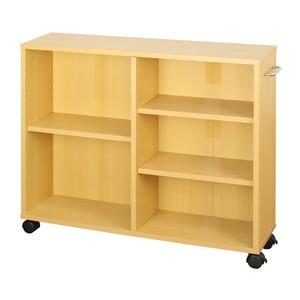 オープンラック 木製 収納ラック おしゃれ マルチラック ラック シェルフ クローゼット 押入れ 書棚 収納 幅78×奥行20×高さ64cm ナチュラル