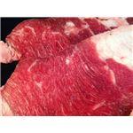 北海道産 牛バラ/牛肉 【1.5mm 1kg】 冷凍90日 〔業務用 店舗 お店 レストラン 飲食店 アウトドア バーベキュー〕