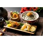 とろ旨海鮮丼!鮭とろ&ねばっと野菜、山わさび醤油味