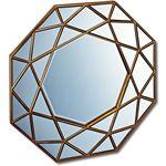 ダイヤモンドアートミラー DM-25001 アンティークゴールド