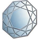 ダイヤモンドアートミラー DM-25002 アンティークシルバー