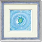 くりのきはるみ ジグレーアートフレーム KH-10108 blue moment
