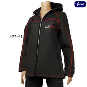ウェットスーツ メンズ レディース ダイビング ボートコート 防寒ジャケット IST CWJ101 S ブラック