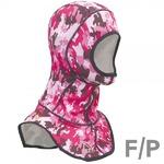 ダイビングフード/ダイビング用品 【L ピンク】 紫外線対策 『Spandex hoods IST PROLINE HOOD4』 〔シュノーケリング〕