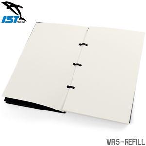 ダイビング 水中ノート交換用紙 アンダーウォーターノートブックリフィール IST PROLINE WR5-REFILL - 拡大画像