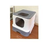 猫用トイレ 大容量 トイレトレイ 引き出し
