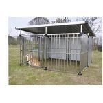 ドッグハウス DFS-M2 (1坪タイプ屋外用犬小屋) 大型犬 犬小屋 ステンレス製 組立品