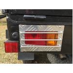 アルミシマ板 軽トラック用 テールガード テールカバー ハイゼット タイプ1