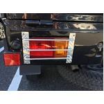 アルミシマ板 軽トラック用 テールガード テールカバー ハイゼット タイプ2