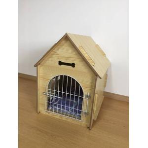犬小屋/猫小屋 ペット小屋 PET HOUSE 木製犬舎/猫舎 室内屋外犬舎/猫舎 - 拡大画像