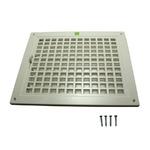 神栄ホームクリエイト 角型レジスター SPRN型 プラスチック製 シルバーホワイト SPRN-150×200