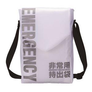 防災ショルダーバッグ/鞄 本体のみ 【100個セット】 容量:10L 〔非常時 防災グッズ 避難グッズ〕 - 拡大画像