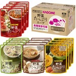 カゴメ 野菜たっぷりスープセット【長期保存可】4種類×4 16袋入